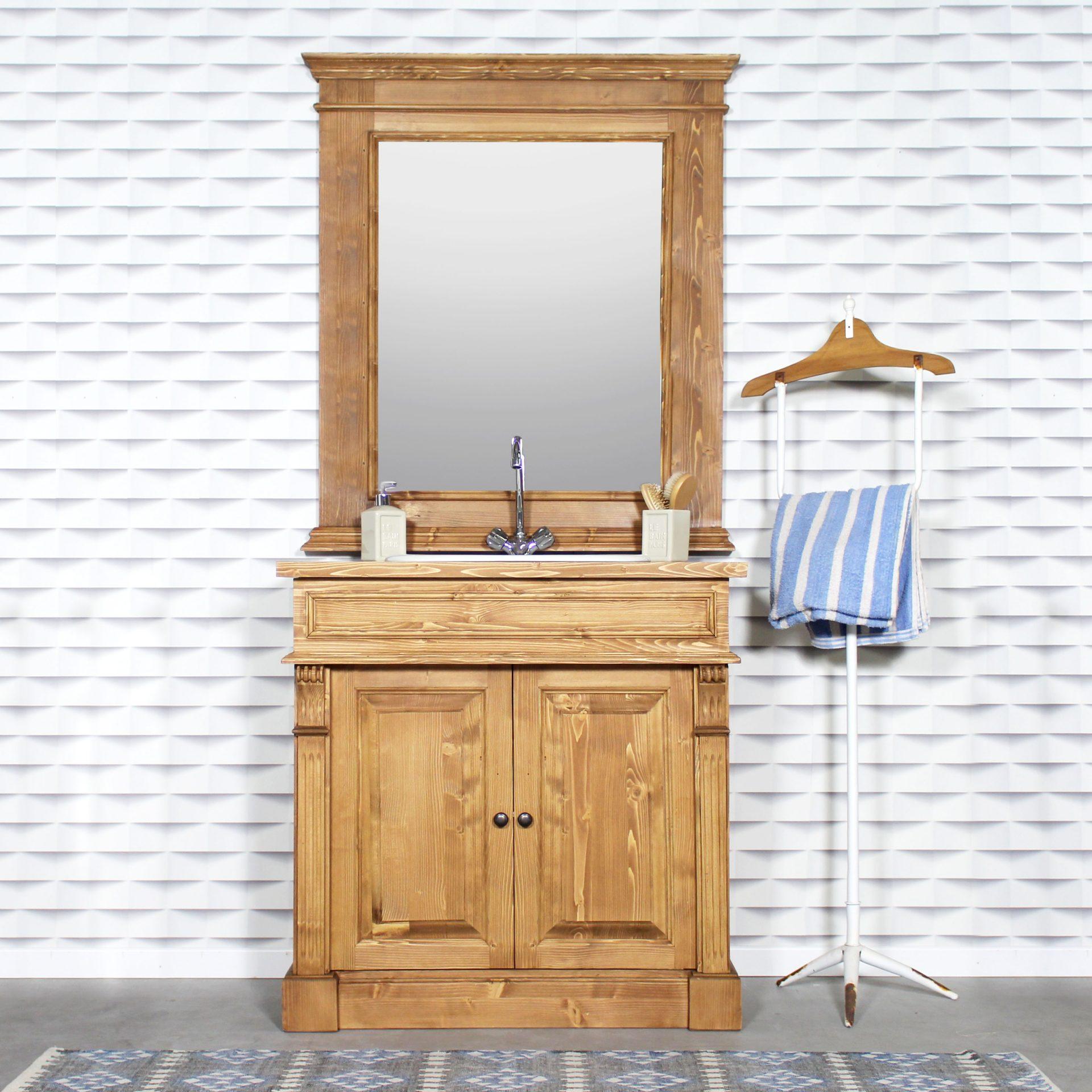 Customiser les vieux meubles avec des miroirs sur-mesure