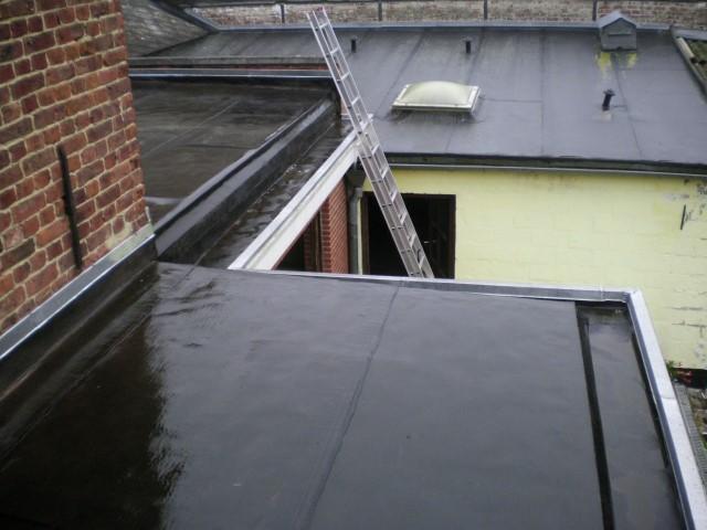 infiltration d'eau sur toit
