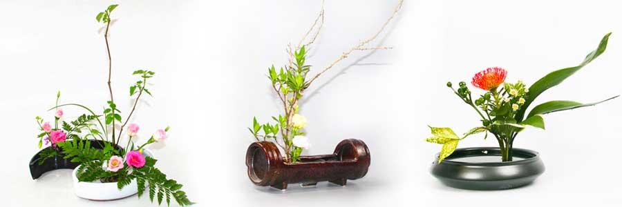 vases ikebana